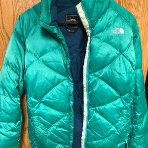 The North Face puffy jacket